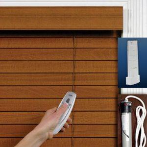 Rèm cửa gỗ tự động TD02
