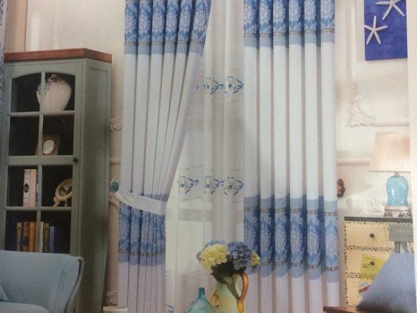 Rèm vải chống nắng 887-1