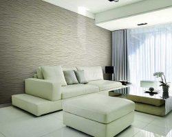 Tư vấn chọn giấy dán tường phòng khách đẹp sang trọng