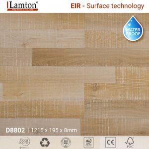 Sàn gỗ Lamton D8802 Lombok Cappuccino